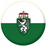 Styria Flag 25mm Flat Back